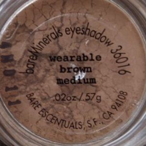 bareMinerals  Wearable Brown Medium *no sifter*